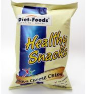 Diet Foods Soya Cheese Chips 200gm